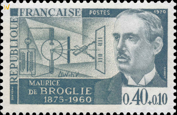 maurice-debroglie-physicien-timbre